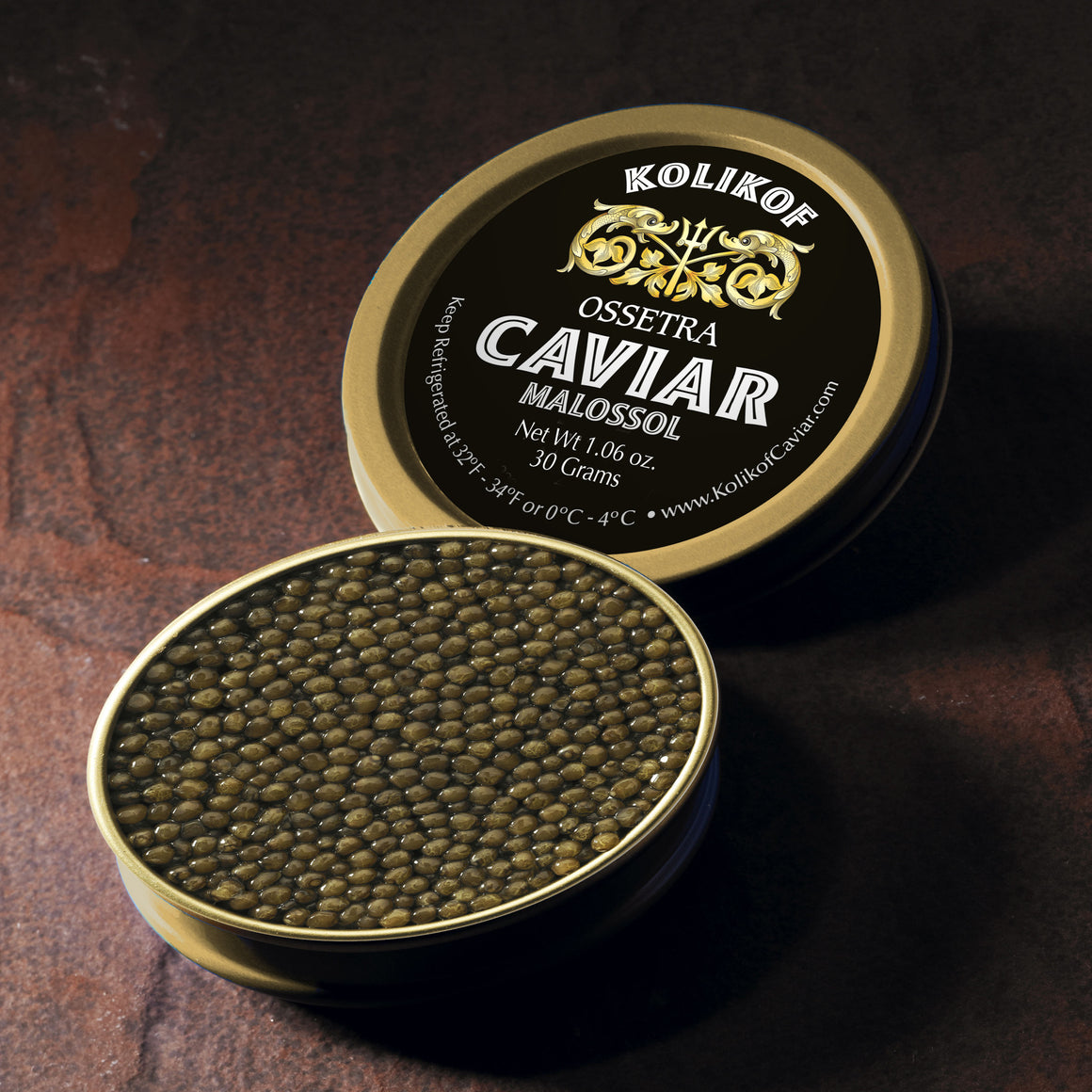 Osetra Sturgeon Caviar by Kolikof