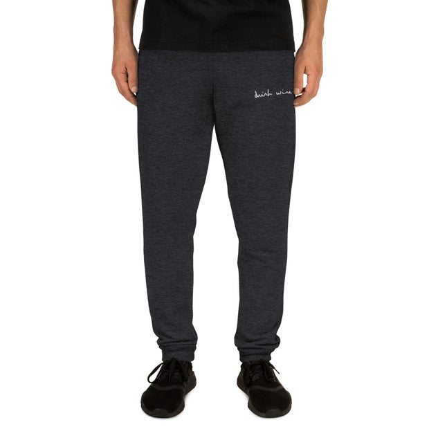Drink Wine Aesthetics Unisex Joggers, Streetware, Home wear