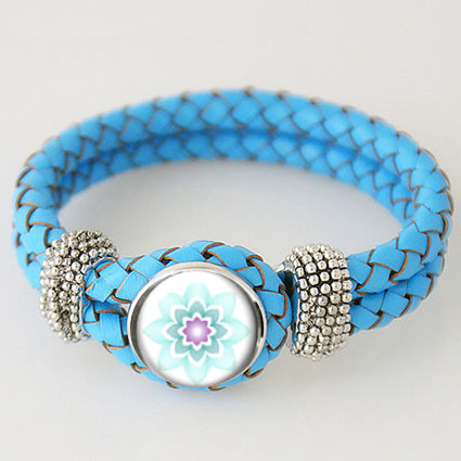 "#TMWF ""Mesh Awareness"" Bracelet - turquoise"
