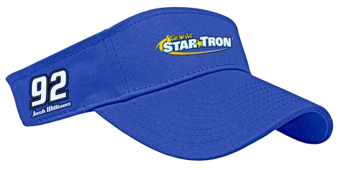 Josh Williams Star Tron Blue Visor