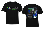 Josh Williams Sleep Well Racing T-Shirt