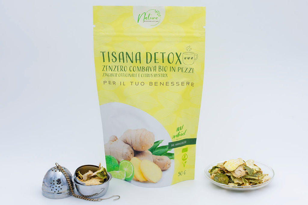 Organic Tisane Detox - Combava and Ginger