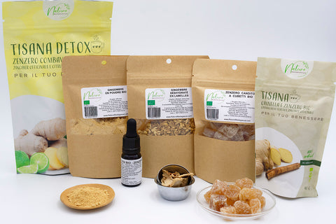 Set Organic Ginger