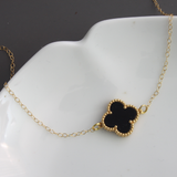 Shamrock Connector Necklace