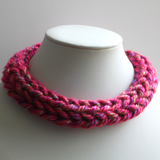 Acrylic Yarn Finger Knitted Neck Cowl