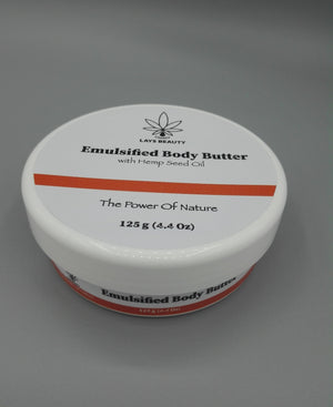 Emulsified Body Butter 125g