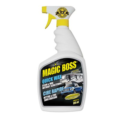 Lave & cire sans eau 1 étape 995ml Magic-Boss