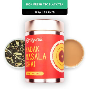 Udyan Tea - Kadak Masala Chai - 100 gm -Price Incl.Shipping