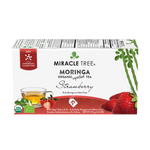 Load image into Gallery viewer, Miracle Tree Organic Moringa Tea Strawberry