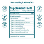 Load image into Gallery viewer, Mummy Magic Weight Loss Green Tea (with Moringa)- 40 Servings- USDA