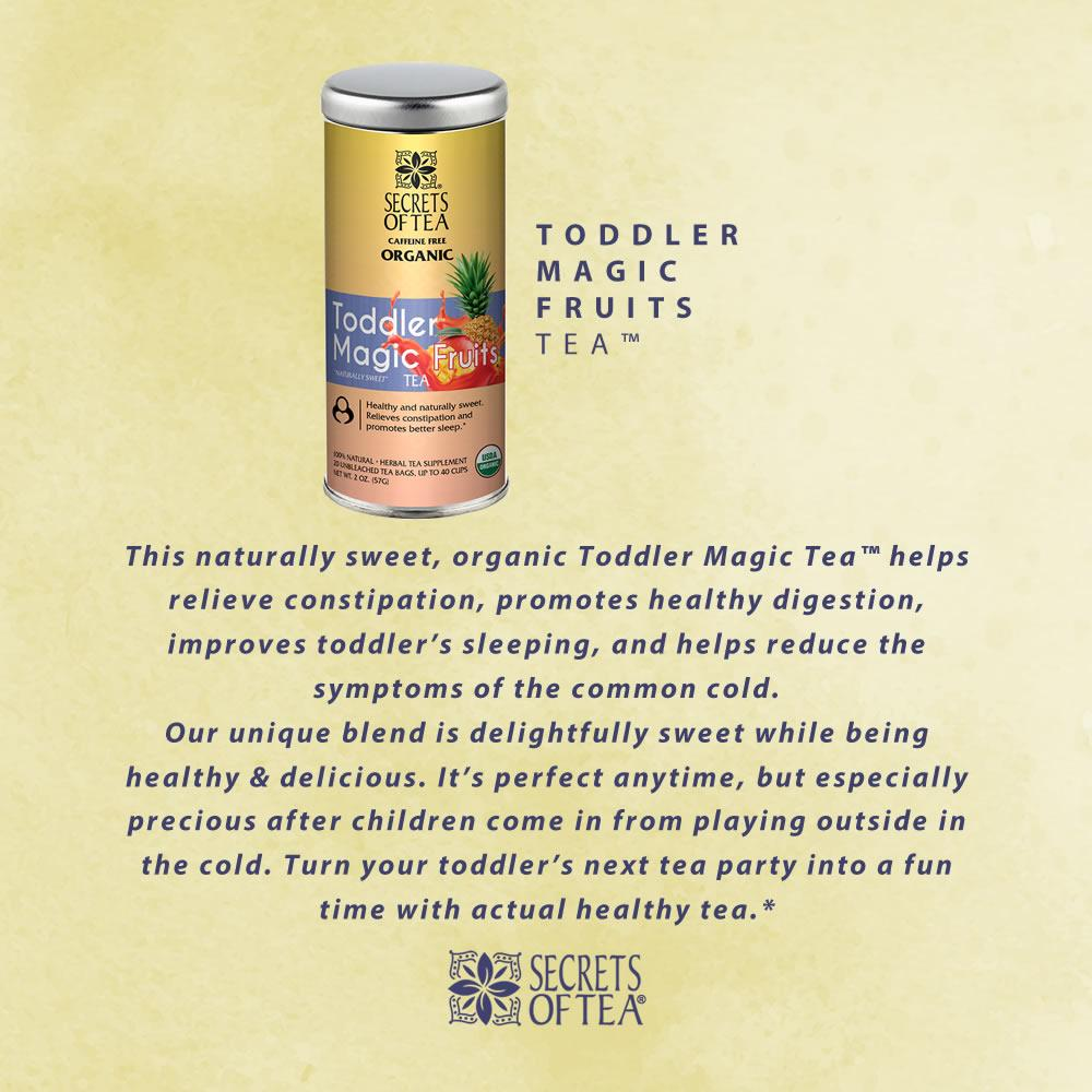 Tea for Toddlers - 40 Servings