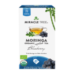 Load image into Gallery viewer, Miracle Tree Organic Moringa Tea Blueberry
