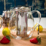 Load image into Gallery viewer, [A] Thermo Glass Tea Pot 20 Fl Oz | 600 Ml WL-888801/A