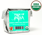 Load image into Gallery viewer, Organic Mint Herbal Full Leaf Tea (Caffeine Free)