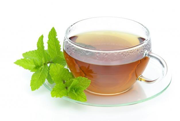 Organic Mint Herbal Full Leaf Tea (Caffeine Free)