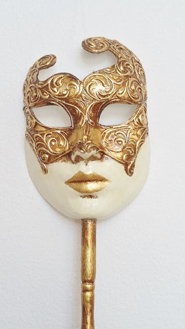 Oro Volto Mask with Stick
