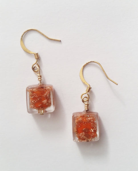 Caprice Earrings | Papaya