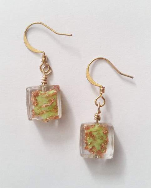 Caprice Earrings | Key Lime