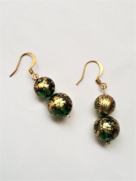 Paola Earrings | Green
