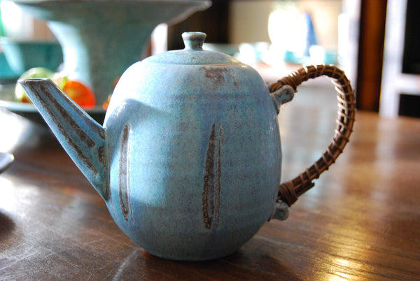 Turkish Blue Tea Pot