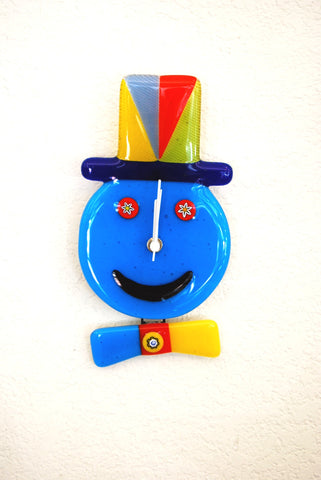 Clown Face Clock