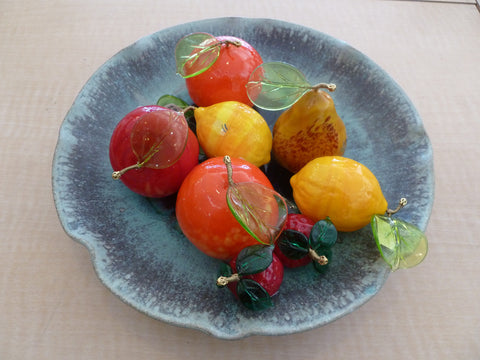 Assorted Glass Fruits