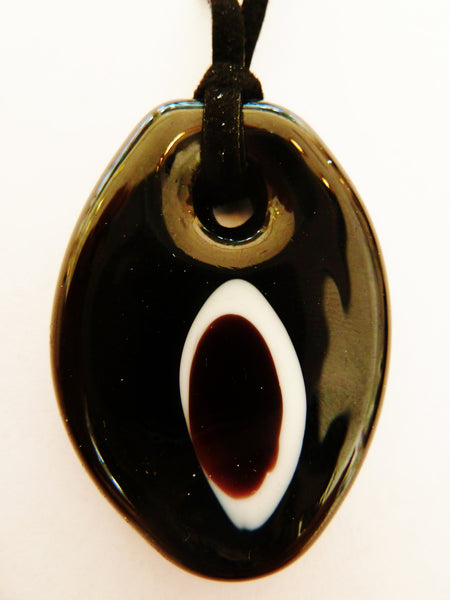 Black and White Giorgia Pendant
