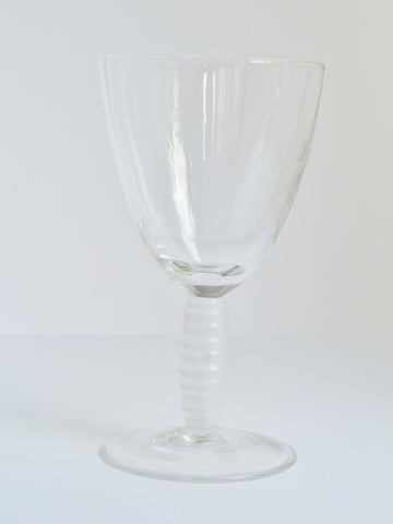 Ringlet Wine Glass - Final Sale