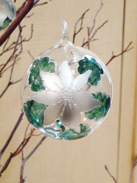 Pine Green Ball Ornament - 50% OFF!