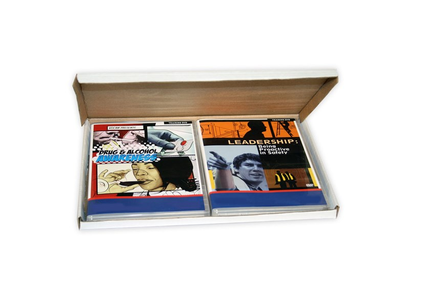 DVD Mailer for multi DVDs from Kebet Packaging in recyclable cardboard