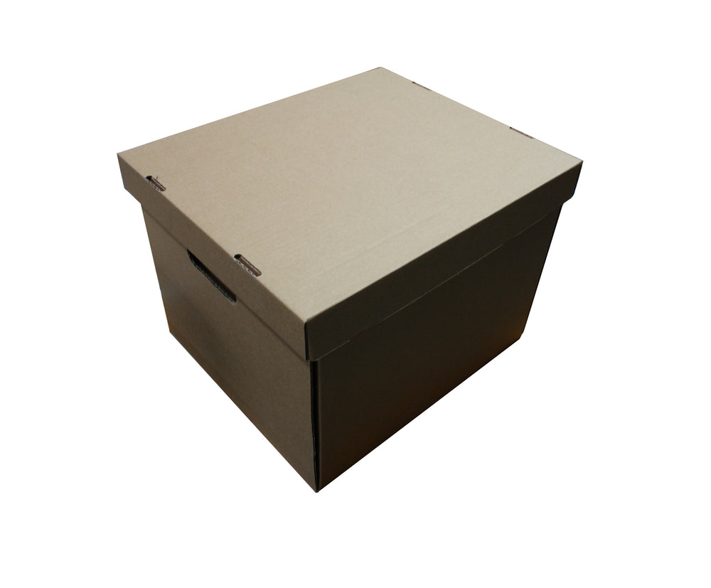 Archive Box Foolscap from Kebet Packaging in recyclable cardboard