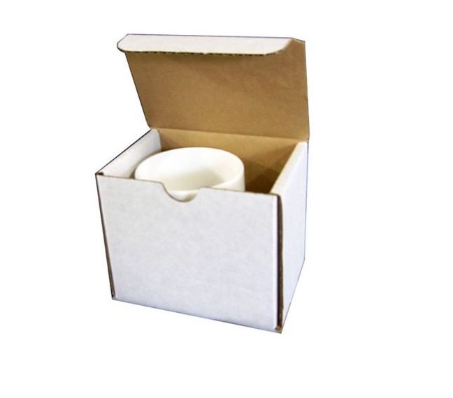 Mug Box from Kebet Packaging in recyclable cardboard