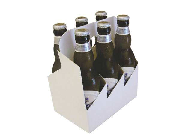 330ml Carry Packs 6 Bottle from Kebet Packaging in recyclable cardboard