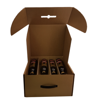 8 bottle cellar door from Kebet Packaging in recyclable cardboard