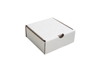 Smaller square for AusPost 500g Satchels from Kebet Packaging in recyclable cardboard
