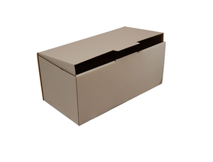 Shoebox Sized Mailing Box from Kebet Packaging in recyclable cardboard