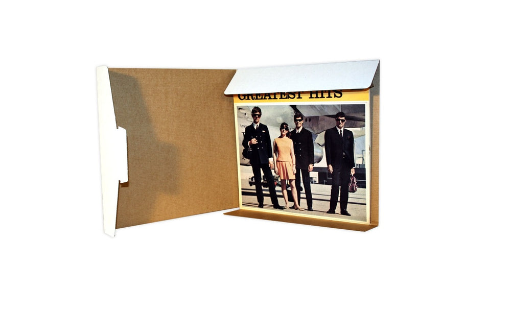 "12"" LP Mailer from Kebet Packaging in recyclable cardboard"