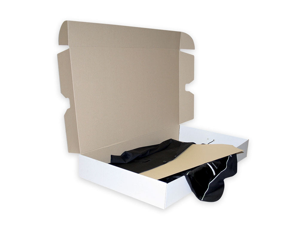 Acid Free Dress Box from Kebet Packaging in recyclable cardboard