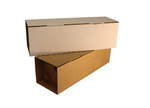 Single Bottle Mailer New and Improved from Kebet Packaging in recyclable cardboard