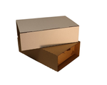 Double Bottle Mailer New and Improved from Kebet Packaging in recyclable cardboard