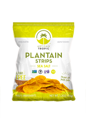 Plantain Strips: Sea Salt 1.75oz - Box containing 16 bags