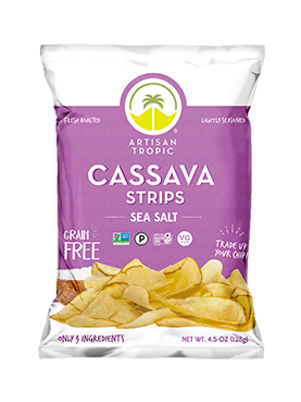 Cassava Sea salt