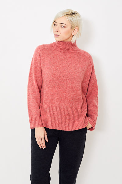 6397 Wide Rib Turtleneck