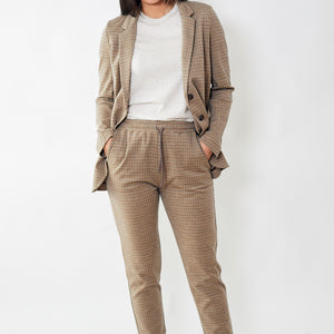 6397 Houndstooth Sweatpant