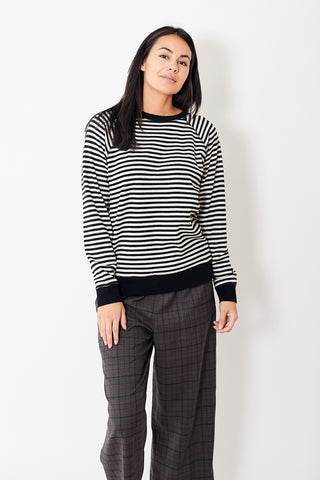 6397 Reversible Stripe Sweatshirt