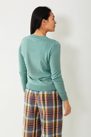6397 Shrunken Crewneck Silk/Cotton