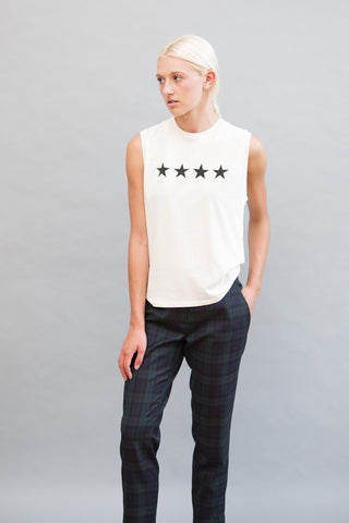 6397 Stars Muscle Tee - grethen house