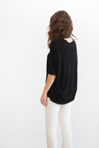 ATM Anthony Thomas Melillo Batwing Henley Sweater