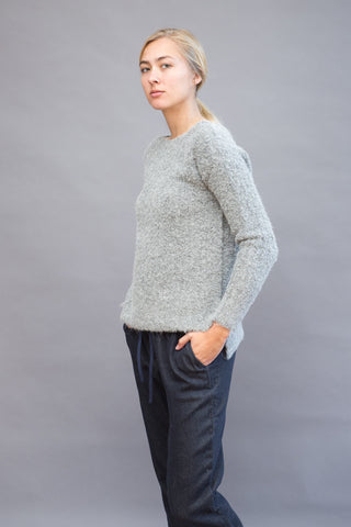ATM Anthony Thomas Melillo Cozy Open Neck Pullover