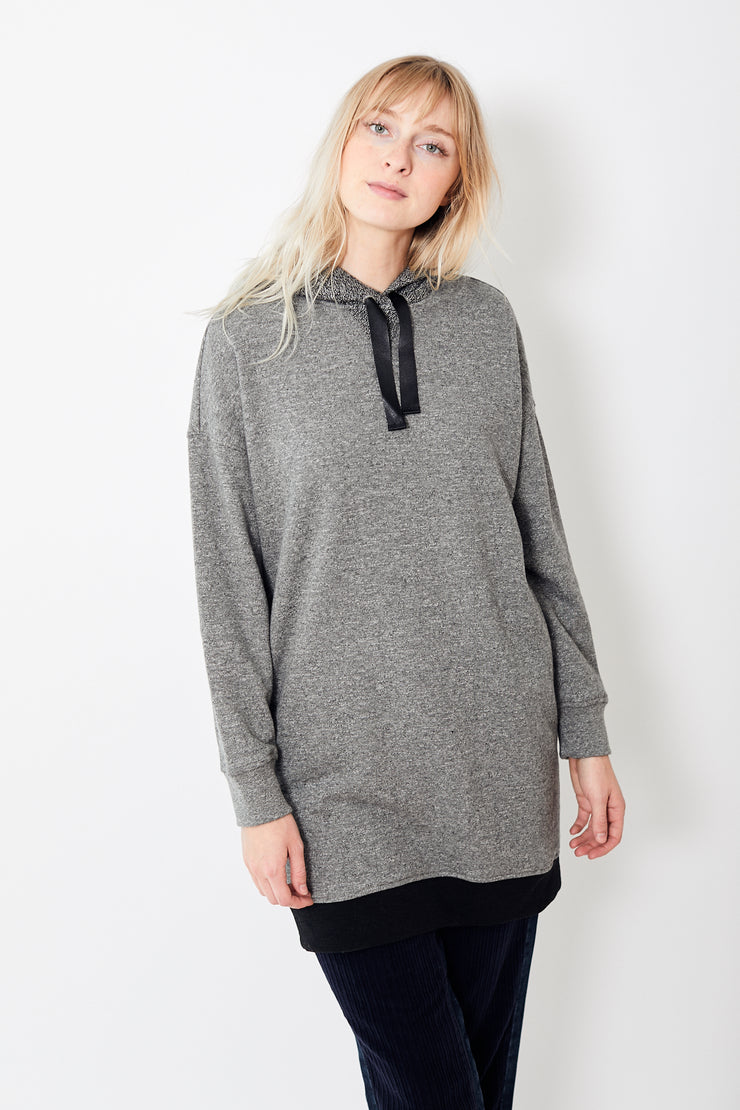 ATM Anthony Thomas Melillo French Terry Hoodie Dress